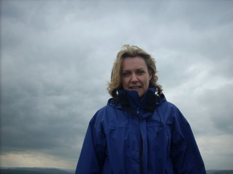 Walking through the Caerphilly Commons to tme mountain top lookout. The 4 year old photographer took this one