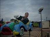 Having an ok time on the rides on the beachfront at Barry.: by tregenza_family, Views[218]