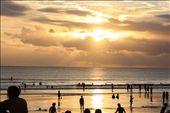 Sunset in kuta beach: by trip2010, Views[123]