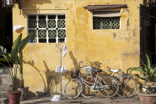 A typical view along the streets of UNESCO Hoi An