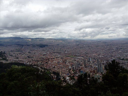 Bogota, Kolumbian pääkaupunki, on koti kahdeksalle miljoonalle asukkaalle.