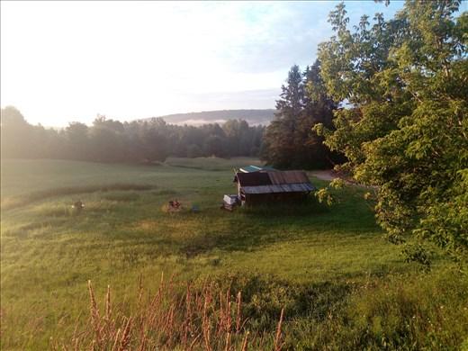Aamuauringon valossa Pohjois-Amerikan viimeisinä päivinäni.