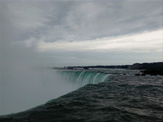 Let it flow. I got to see the power of water in Niagara Falls.