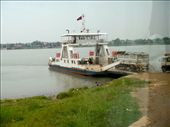 Ferry to cross the Mekong River: by tweber, Views[121]