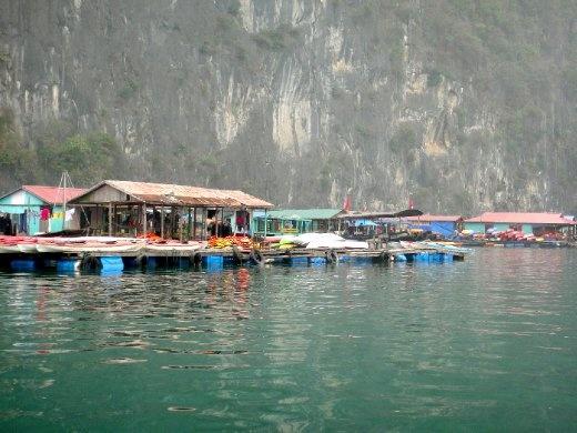 Floating fishing villages