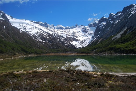 The Esmeralda Lake.