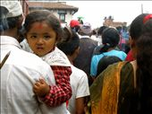 This little girl at Gai Jatra was so pretty, I just had to take a photo.: by utterlyemily, Views[159]