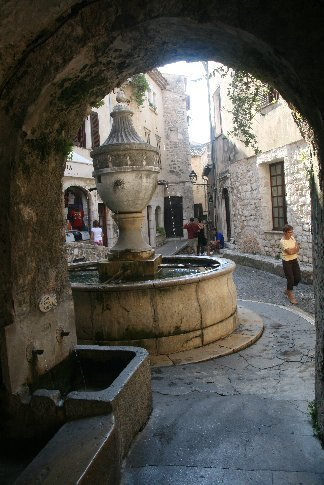 In St Paul de Vence which we think is the prettiest village of them all