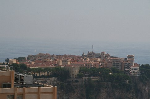 The royal palace in Monaco