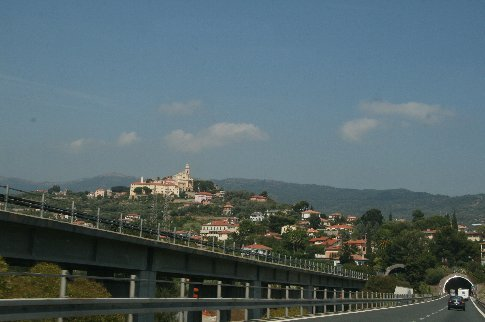 Part of the bridge / tunnel system for crossing the Italian countryside. It doesn't do much for the locals' peace and quiet