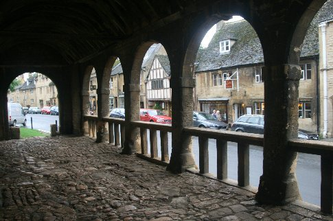 In the medieval Market Hall