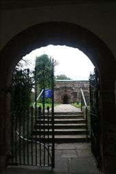 What a delightful entrance to a church - straight off the town square: by vacation_practitioners, Views[136]