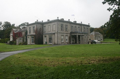 The Manor house and a little slice of the grounds in Clowance