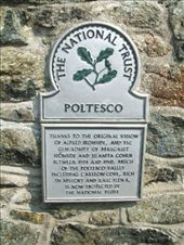 The National Trust plaque at Poltesco (which includes the Serpentine Mill): by vacation_practitioners, Views[351]