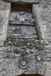 Historic medallion in wall, St. Martin de Vers: by vagabonds, Views[414]