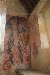 Surviving mural, Farleigh Hungerford Castle: by vagabonds, Views[443]