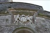 Henry VIII's crest, St. Mawes Castle, Cornwall: by vagabonds, Views[832]