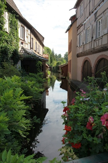 The butcher's shop was on the right, Vissembourg