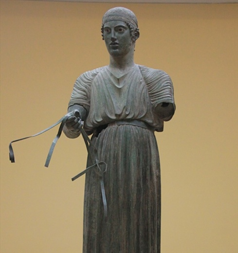 The Charioteer, Delphi Museum