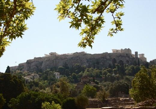 Acropolis from the Agora, Athens