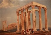 Painting, Temple of Olympic Zeus, City Museum of Athens: by vagabonds, Views[1076]