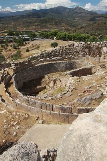 Burial ring, Ancient Mycenae