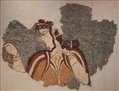 Mycenean frieze, National Archeological Museum, Athens: by vagabonds, Views[465]