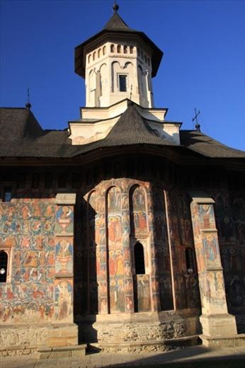 Painted monastery of  Moldovita