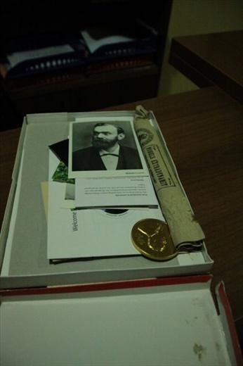 Honoring the Prize winners, Hotel Nobel, Tirana