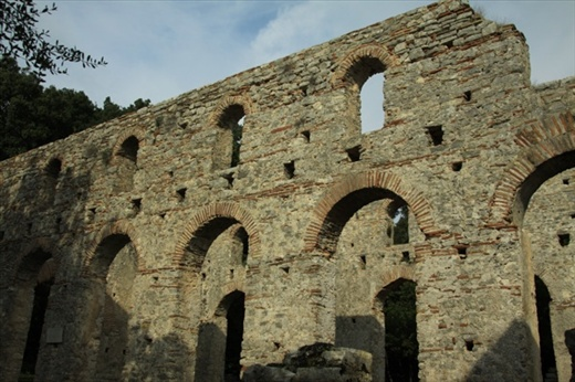 Sixth Century basilica, Butrint