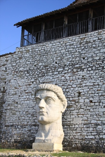 Bust of Constantine, Berat