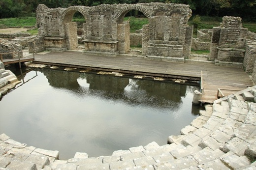 Greek theater, Butrint