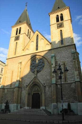 Catholic church, Sarajevo