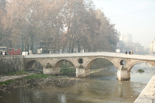 Latin Bridge where WW I began, Sarajevo