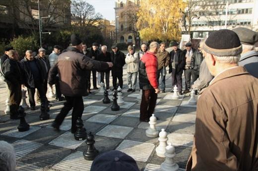 Street chess, Sarajevo