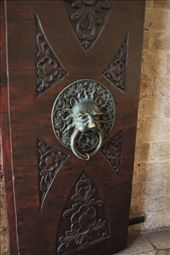 Door knocker, Old City, Dubrovnik: by vagabonds, Views[486]
