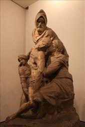 Unfinished Pieta by Michelangelo, Duomo museum: by vagabonds, Views[682]