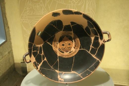 Etruscan ceramic, Etruscan Museum, Cortona