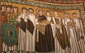 Mosaic of Justinian and troops, Basilica of San Vitale: by vagabonds, Views[1125]