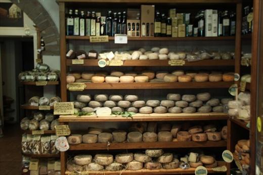Pecorino cheese, Pienza