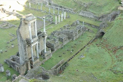 Roman theater, Volterra
