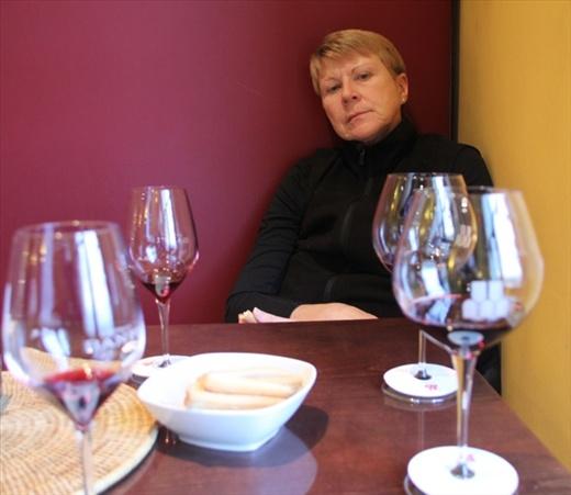 Wine tasting, Montalcino