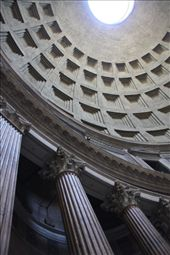 Pantheon dome and columns: by vagabonds, Views[201]
