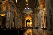 Interior of St. Peter's Basilica, Vatican: by vagabonds, Views[3835]