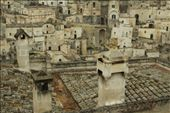 Tile roofs, , old town Matera: by vagabonds, Views[855]