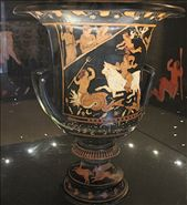 Vase of Europa, Paestum Museum: by vagabonds, Views[198]