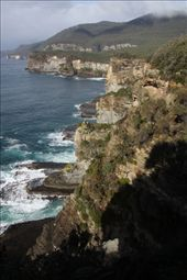 Rocky cliffs, Tasman National Park: by vagabonds, Views[159]