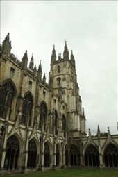 Canterbury Cathedral from cloister: by vagabonds, Views[324]