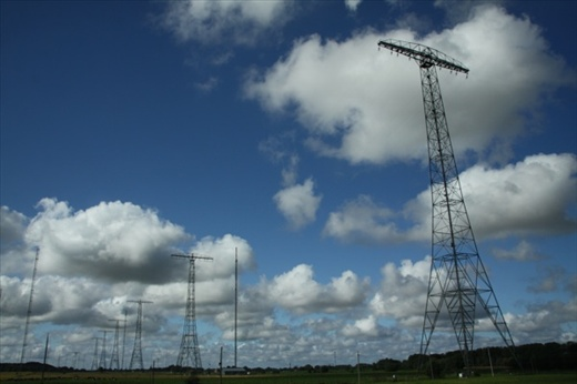 Six antennae to reach the US, Grimeton/Varberg Radio Station