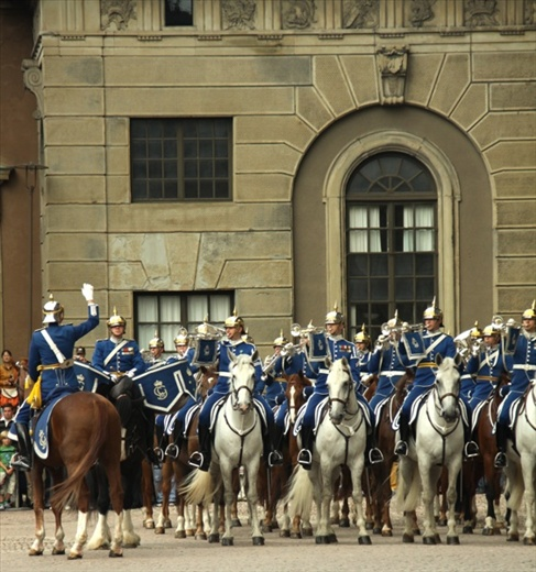 Changing of the Guard, Royal Palace, Stockholm
